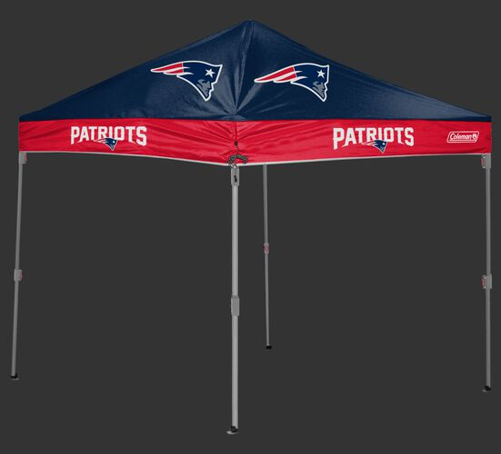 Rawlings Navy and Red NFL New England Patriots 10x10 Canopy Shelter With Team Logo and Name SKU #03221076111