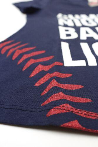 Right Side of Rawlings Women's Summer Nights & Ballpark Lights T-Shirt - SKU #RA30001-400