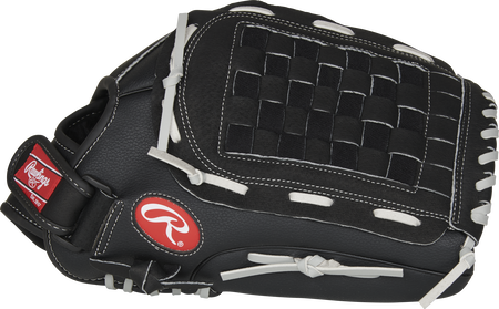 Thumb of a RSB140GB 14-Inch RSB outfield glove with a black Basket web