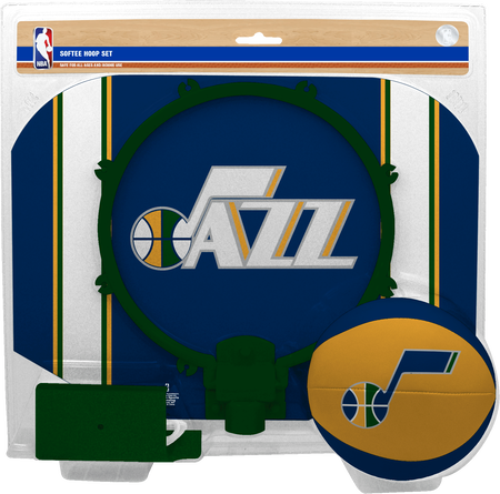 NBA Utah Jazz Softee Hoop Set
