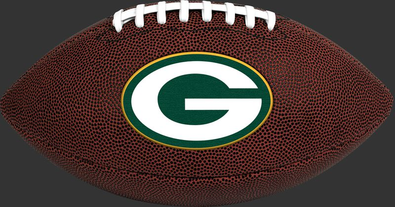Brown NFL Green Bay Packers Football With Team Logo SKU #07081068811