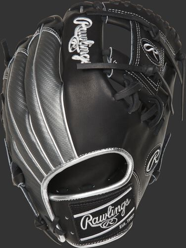 PRO204-2BPCF 11.5-inch Hyper Shell I-web glove with a silver Hyper Shell back