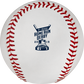 The 2019 MLB Home Run Derby logo on the ROMLBHR19 baseball image number null