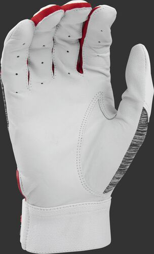 White palm of a 5150WGB-S Rawlings youth 5150 batting glove