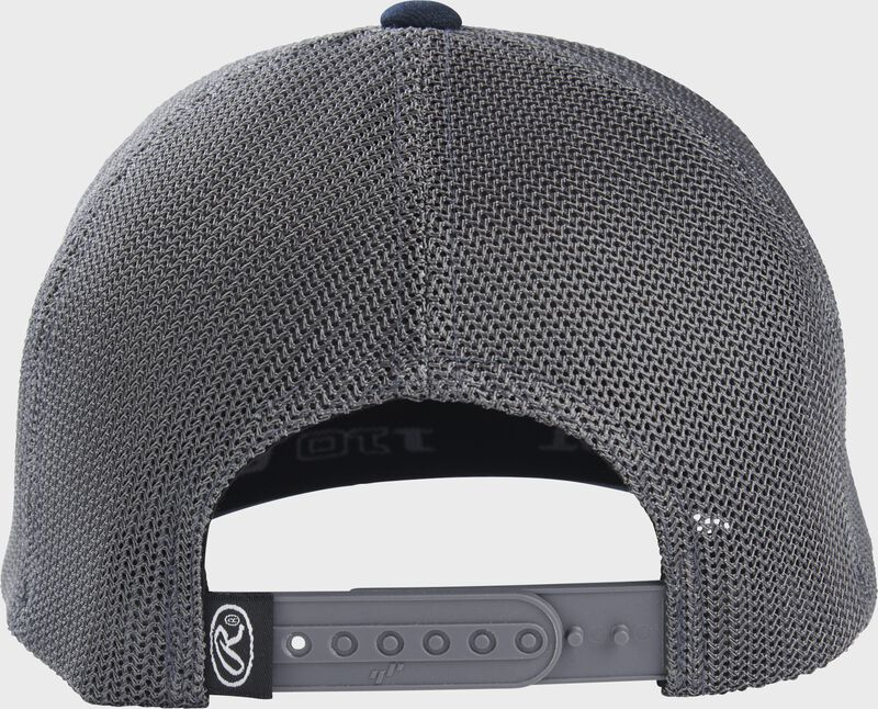 Rawlings Leather Patch Mesh Snapback Hat