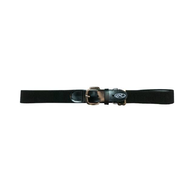 Adjustable Elastic Baseball Belt Black