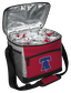 An open Philadelphia Phillies 24 can cooler filled with ice and drinks - SKU: 10200020111 image number null