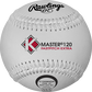 A white C120WASA K-Master official 12-inch softball with white stitching image number null