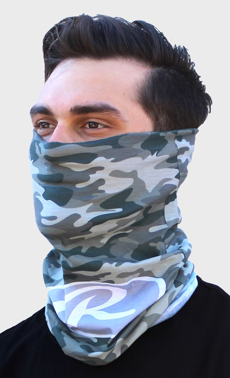 Rawlings Adult Multi-Functional Head and Face Gear | Camo