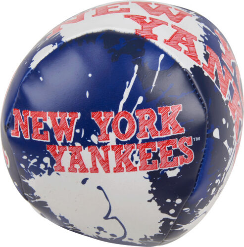 Rawlings New York Yankees Quick Toss 4'' Softee Baseball With Team Name On Front In Team Colors SKU #01320030112