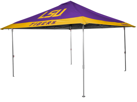 NCAA LSU Tigers 10x10 Eaved Canopy