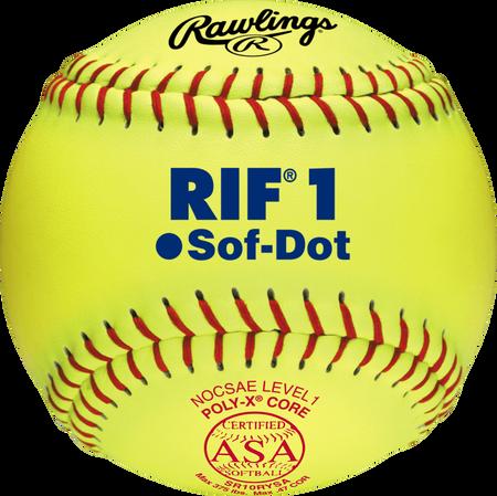 """10"""" ASA RIF Official Softballs"""