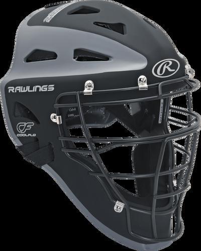 Velo Adult Catchers Helmet Black/Graphite