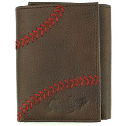 Baseball Stitch Tri-Fold Wallet