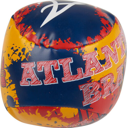 Rawlings Atlanta Braves Quick Toss 4'' Softee Baseball With Team Name On Front In Team Colors SKU #01320005112
