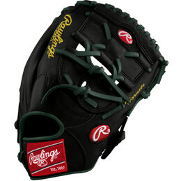 Green/Gold Custom Glove