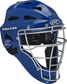 Royal Cool-Flo adult catcher's helmet with silver cage image number null
