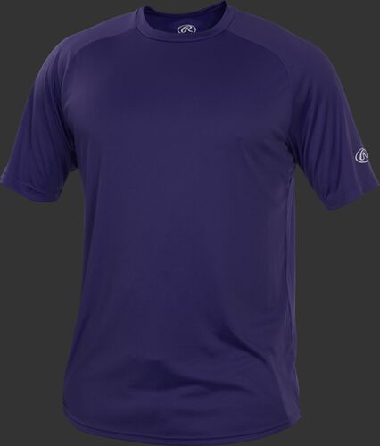 RTT Purple Adult crew neck short sleeve jersey