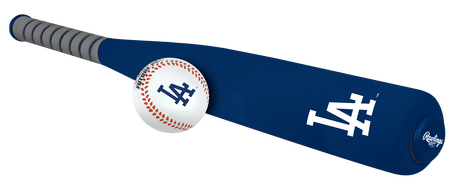 MLB Los Angeles Dodgers Foam Bat and Ball Set