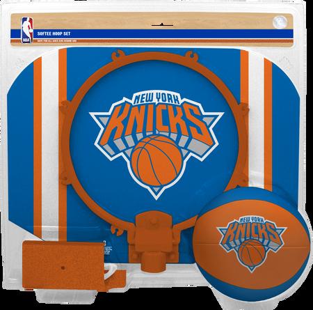 NBA New York Knicks Softee Hoop Set