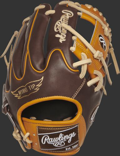PROR205W-2CHBLEMA BLEM 11.5-inch Heart of the Hide R2G I-web glove with a chocolate Wing Tip back