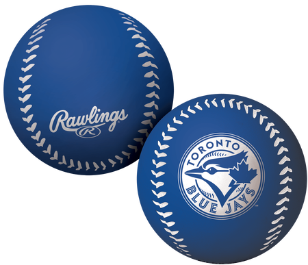 A royal Toronto Blue Jays Big Fly bounce ball