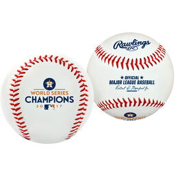 2017 Houston Astros World Series Champion Replica Baseball