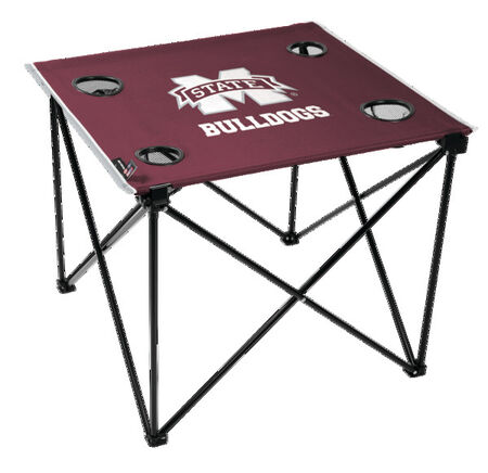 NCAA Mississippi State Bulldogs Deluxe Tailgate Table