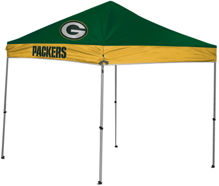 NFL Green Bay Packers 9x9 shelter with 4 team logos