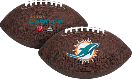 NFL Miami Dolphins Air-It-Out youth football with team logo