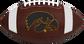 Brown NCAA Iowa Hawkeyes Football With Team Logo SKU #04623075811 image number null