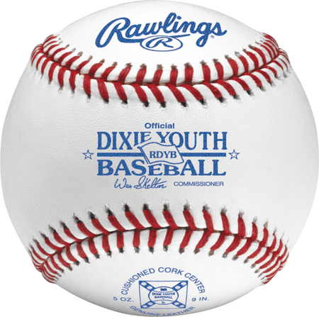 Dixie Youth Baseball Official Baseballs