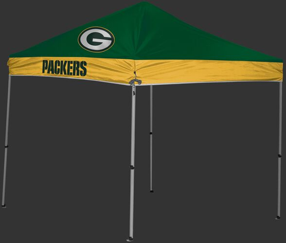 Rawlings Green and Yellow NFL Green Bay Packers 9x9 Canopy Shelter With Team Logo and Name SKU #03231068111