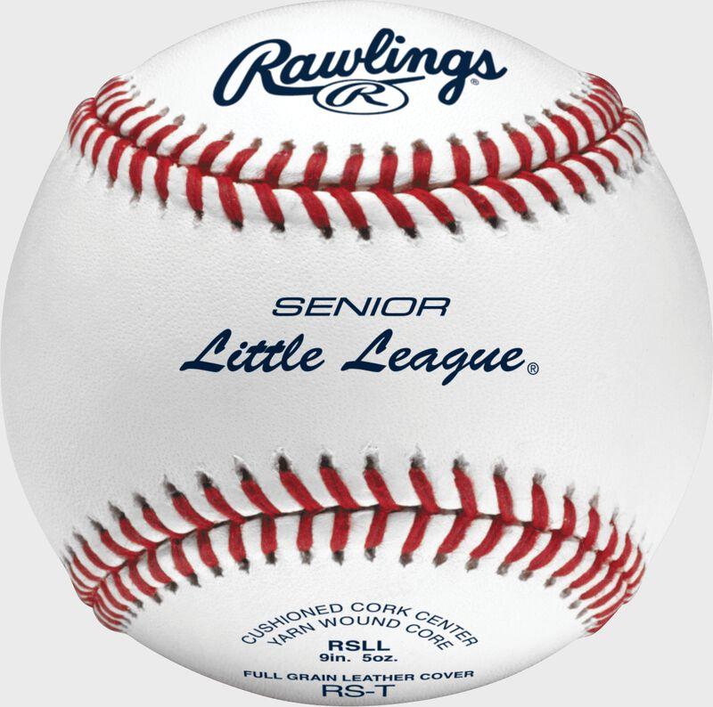 RSLL Senior League youth tournament grade baseball with raised seams