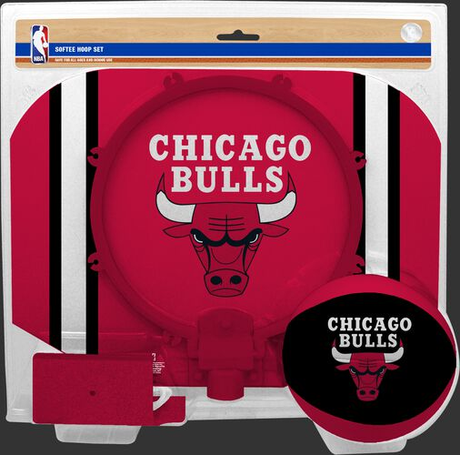 Rawlings Red and White NBA Chicago Bulls Hoops Set With Team Logo SKU #03544198114
