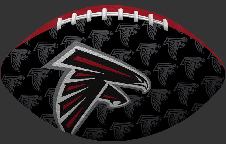 Black side NFL Atlanta Falcons Gridiron football with the team logo SKU #09501060121