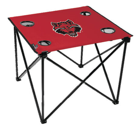 NCAA Arkansas State Red Wolves Deluxe Tailgate Table