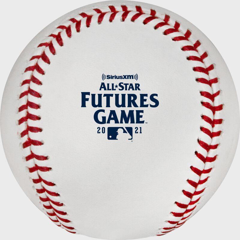 2021 Futures Game logo on a MLB baseball - SKU: ROMLBAF21-R