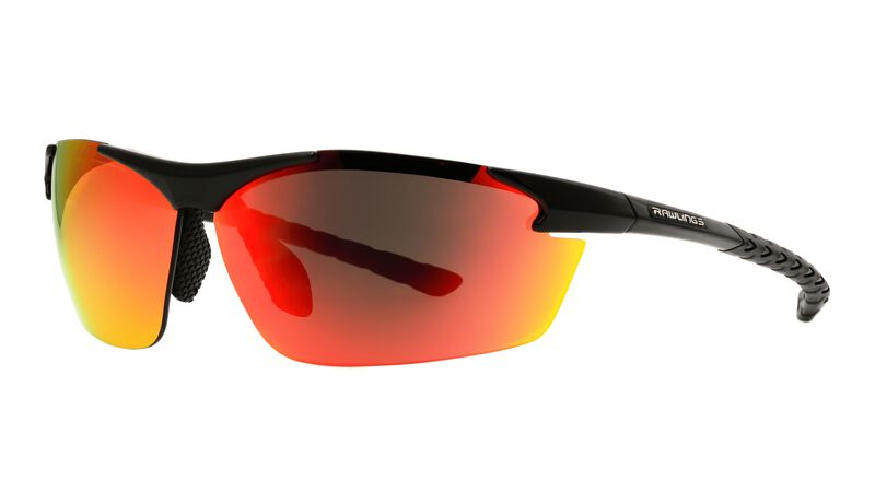 Rawlings Red Lens and Black Frame Pro Preferred Adult Sunglasses SKU #10225717