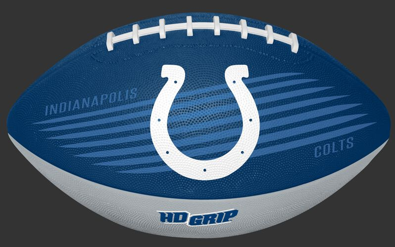 Blue and White NFL Indianapolis Colts Downfield Youth Football With Team Logo SKU #07731070121