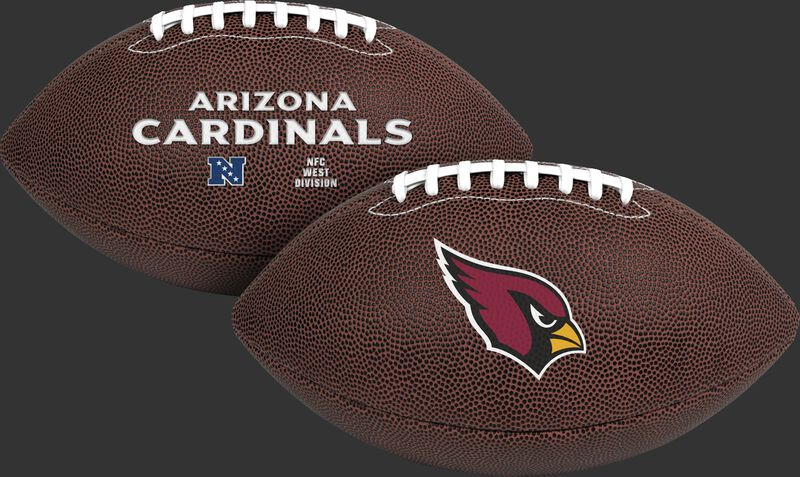 NFL Arizona Cardinals Air-It-Out youth football with team logo and team name SKU #08041081121