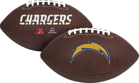 NFL Los Angeles Chargers Air-It-Out youth football with team logo