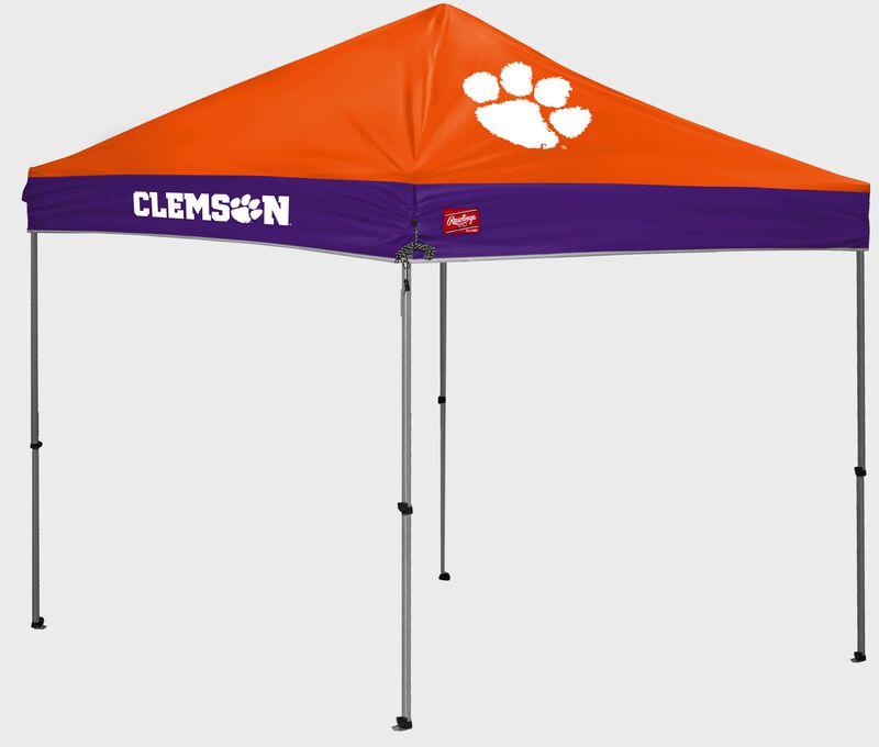 A Clemson Tigers 9'x9' straight leg canopy