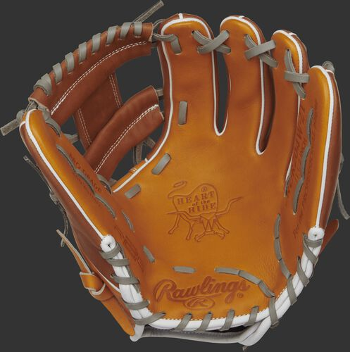 Rawlings PRO204W-2T 11.5-inch R2G glove with a tan palm