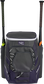 Front of a purple Rawlings Impulse bag with a purple Rawlings patch and two bats in the sides - SKU: IMPLSE-PU image number null