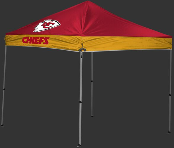 Rawlings Red and Yellow NFL Kansas City Chiefs 9x9 Canopy Shelter With Team Logo and Name SKU #03231071111