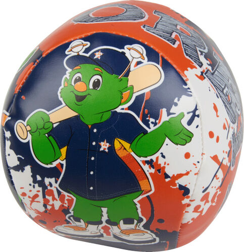 Rawlings Houston Astros Quick Toss 4'' Softee Baseball With Team Mascot On Front In Team Colors SKU #01320002113