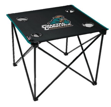 NCAA Coastal Carolina Chanticleers Deluxe Tailgate Table