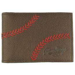 Baseball Stitch Front Pocket Wallet