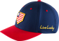 Rawlings Black Clover USA Fitted Hat image number null